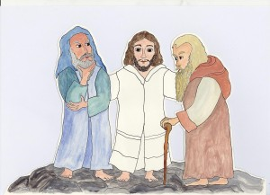 11.Verklärung Jesu.Mk.9,2-10