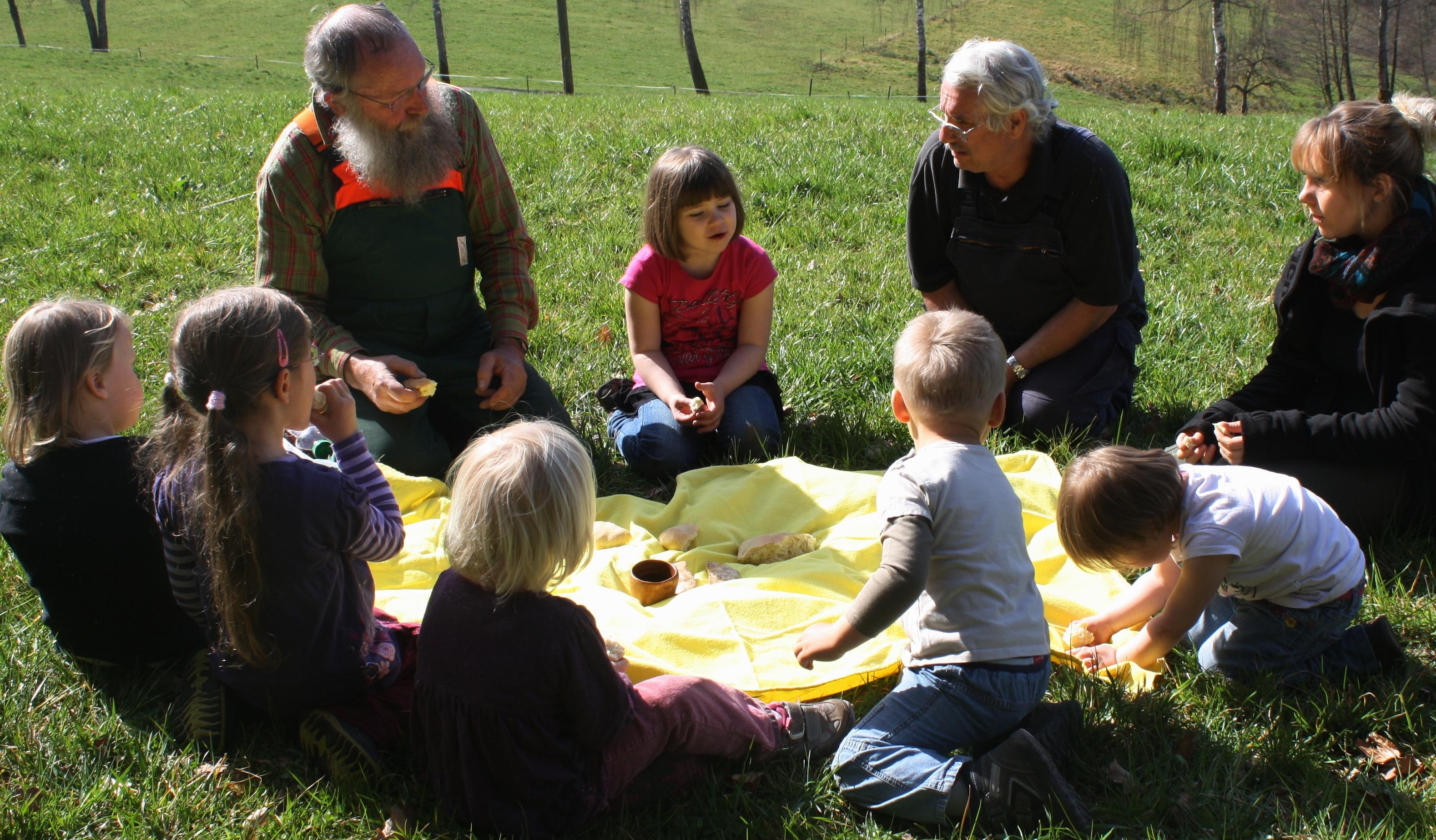 speisung der 5000 kindergarten