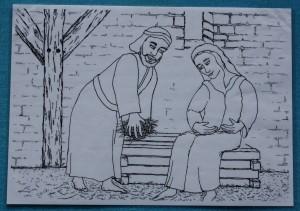 Maria u. Josef ohne Kind