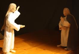 maria mit engel